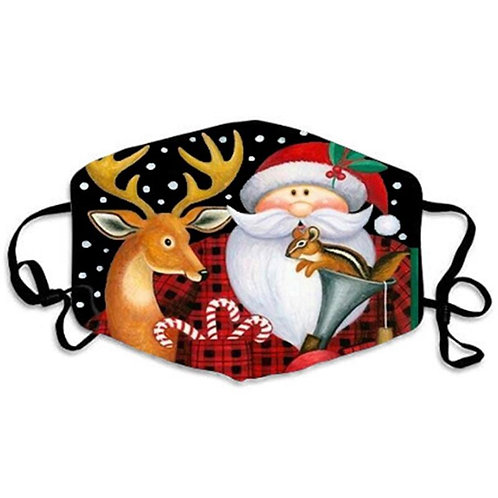 Face mask - Christmas and New Year - Santa Clause