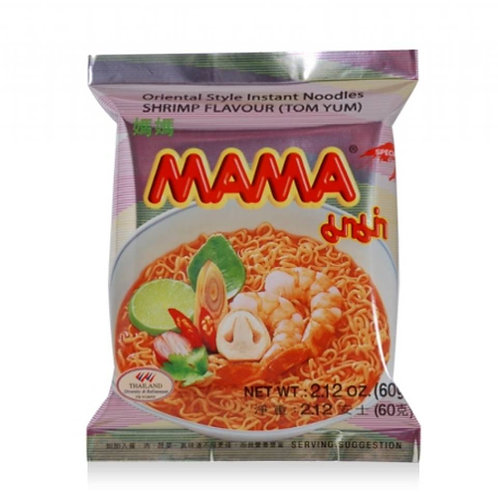 Instant Noodles - Tom Yum Shrimp Flavour  - Mama - 60g