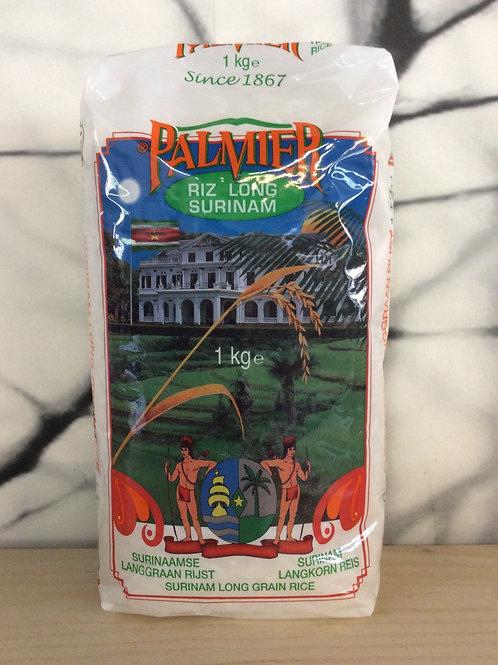Surinaamse Langgraan Rijst - Palmier 1kg