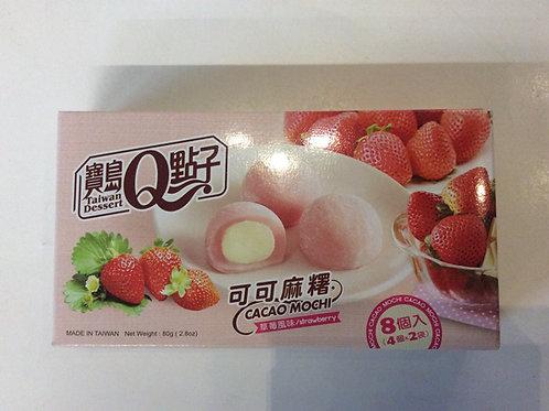 Strawberry Cacao Mochi 80g