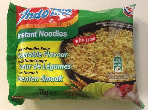 Instant Noodles - Vegetable Flavour - Indo Mie - 75g