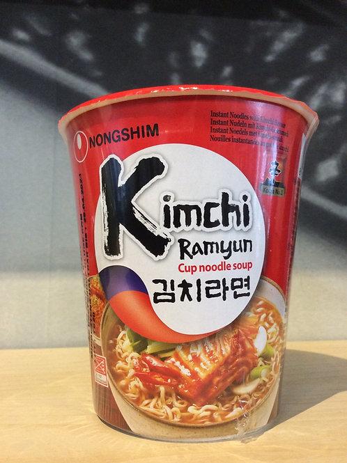 Kimchi Ramyun Cup Noodle Soup 75g