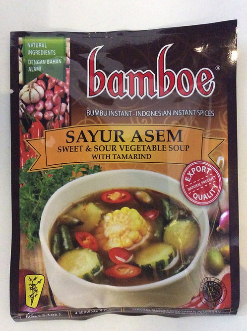 Sweet & Sour Vegetable Soup with Tamarind Spices 60g