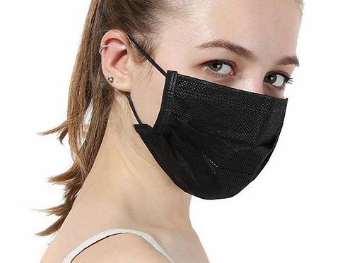 Wholesale-Wegwerp Mondmasker - zwart
