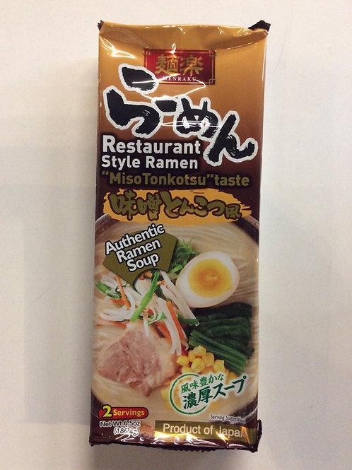 Restaurant Style Ramen Miso Tonkotsu Taste 186.4g