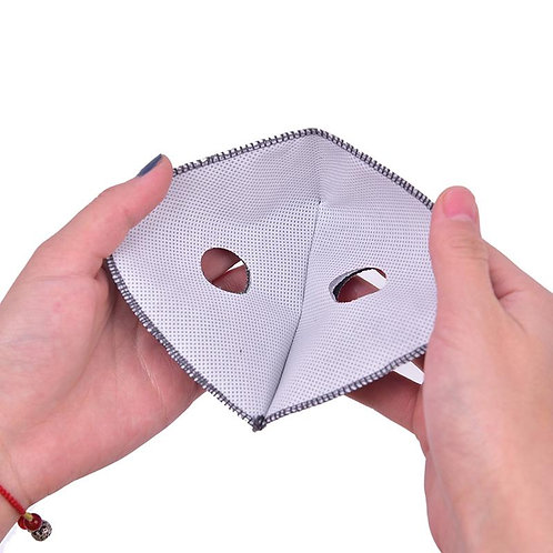 1 Double filter for facemask