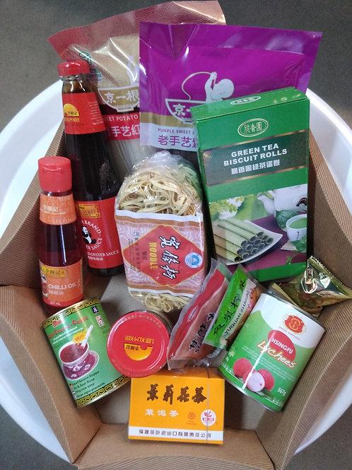 Combo Wok Noedels & Soep (Chinese cuisine)