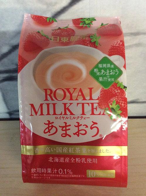 Royal Milk Tea Strawberry 140g (10 sticks)