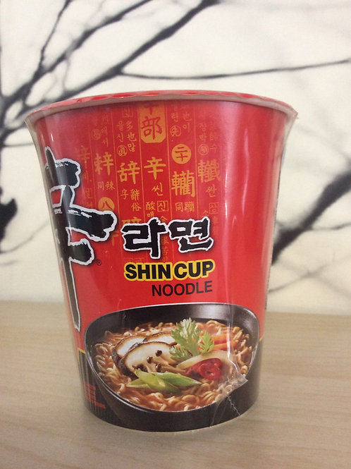 Nongshim Shin Cup Noodles Gourmet Spicy 68 gram