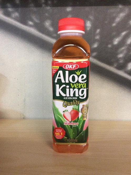 Aloe Vera Drink Strawberry Taste 500ml