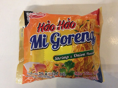 Shrimp and Onion Flavor Instant Noodles - Hao Hao - 76g
