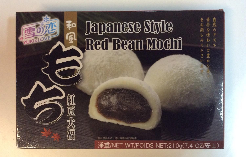 Red Bean Mochi_Yuki_210g