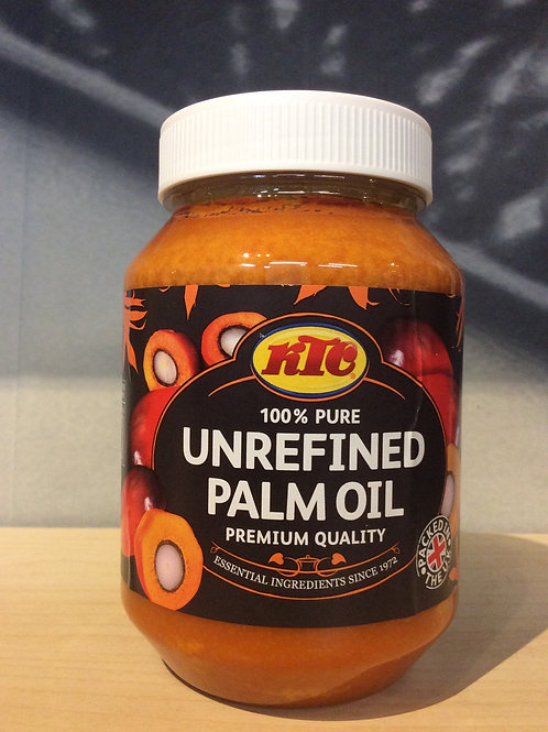 100% Pure Unrefined Palm Oil 500ml