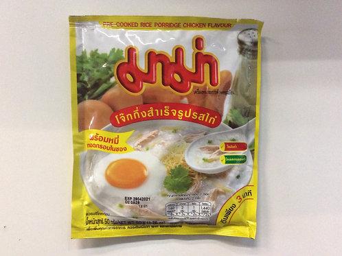 Pre-cooked Rice Porridge Chicken Flavor - 50g