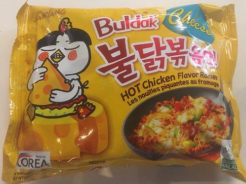 Samyang Cheese Buldak Hot Chicken Ramen 140g