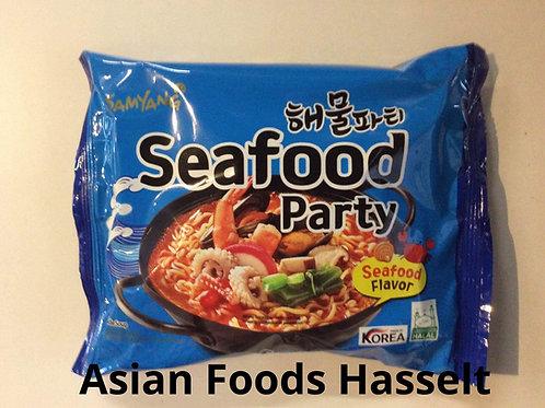 Instant Noodles Samyang - Spicy Seafood - 145g