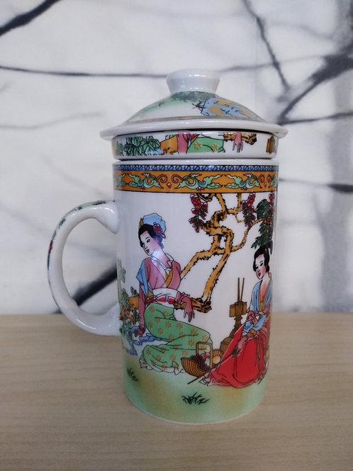 Tas voor thee of gember met filter_Lady