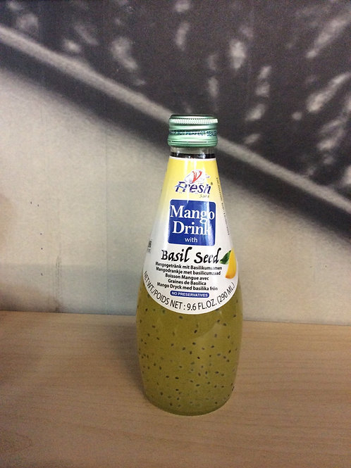 Mango Drink with Basil Seed 290ml