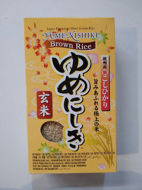 Japanese Short Grain Brown Rice 1kg