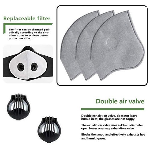 1 Air valve for facemask