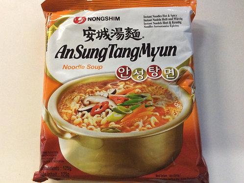 Instant Noodles - An Sung Tang Myun - Nong Shim - 125g