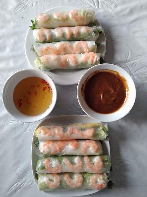 Vietnamese Spring Rolls - 4 portions(12 pcs)