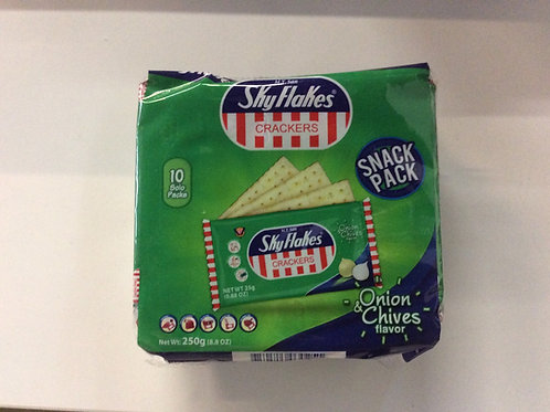 Crackers Onion & Chives Flavor 250g