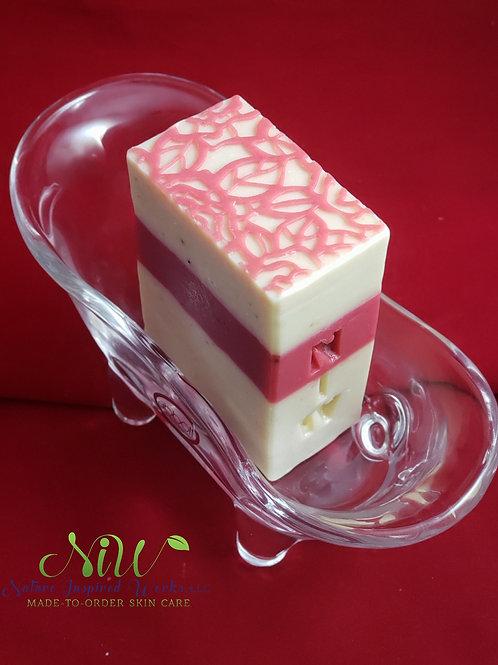 Apple Sage & Frankincense Handcrafted Bar Soap, Ladies
