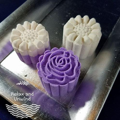 Handmade Petals Epsom Salt Bath Bombs