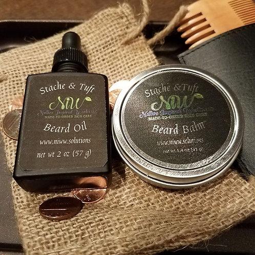 Beard Pack (Balm, Oil & Comb)