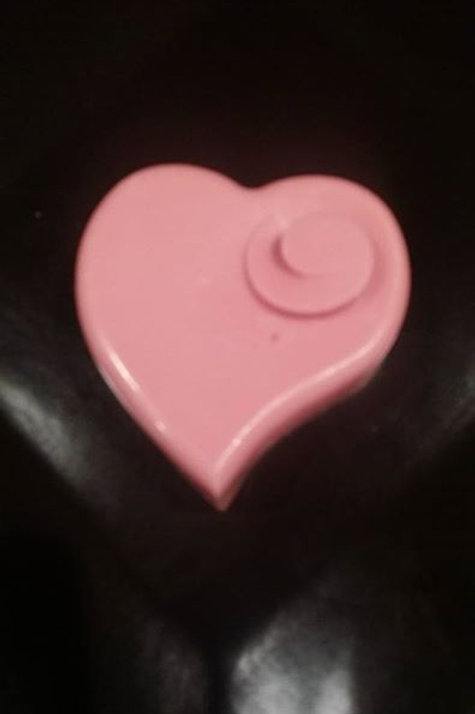 Massage Bar (unscented,  )Pink Flying Heart