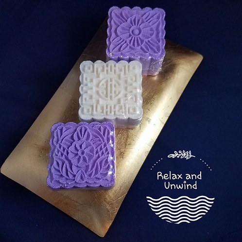Handmade Deco/Square Epsom Salt Bath Bombs