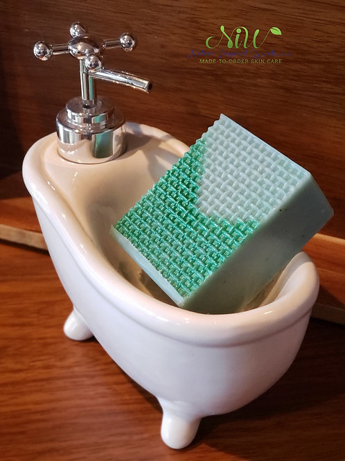 Men's Jute-Swag Handcrafted Bar Soap