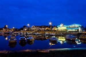 port de La Teste de nuit