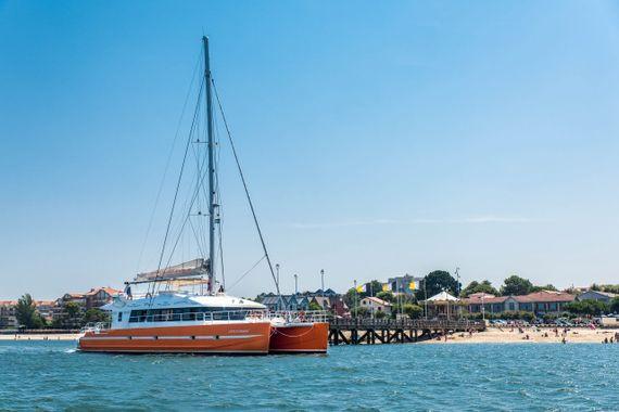 Embarquement sur le Côte d'Argent