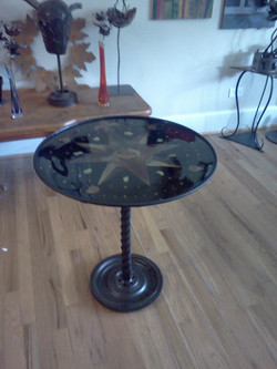 African Compass Table