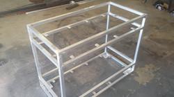 Aluminum Bar Cart frame