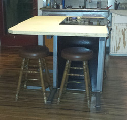 kitchen island legs