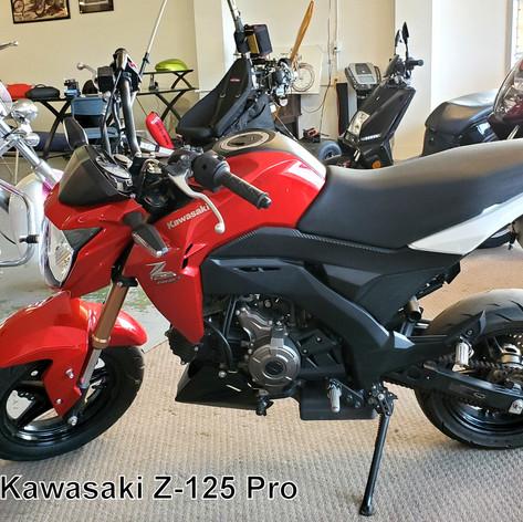 2018 Kawasaki Z-125 Pro    (1745)   RXM