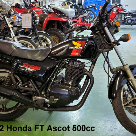 1982 Honda FT Ascot 500cc      (5746)