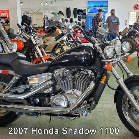 2007 Honda Shadow 1100   (2878)   RXM