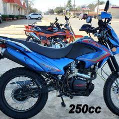 To 250cc Dirt Bike (TBR 7)