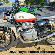 2020 Royal Enfield Interceptor.