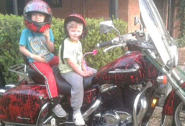 You're never too young to want to ride.