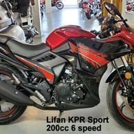 American Lifan KPR-200cc