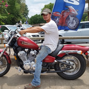 He finally got his first bike...and its a nice one. Enjoy it and be safe.