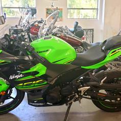 2018 Kawasaki Ninja 400cc.