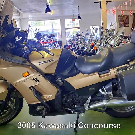 2005 Kawasaki Concours 1000cc