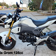 2018 Honda Grom 125cc         (9642   RX