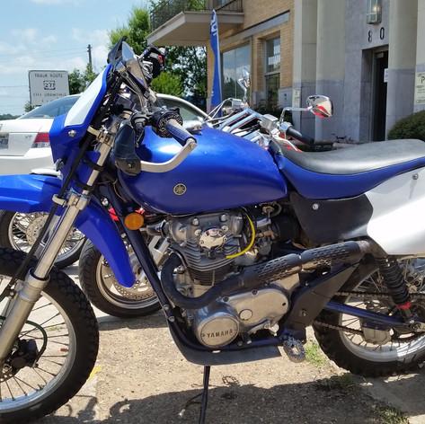 1978 Yamaha XS-650.